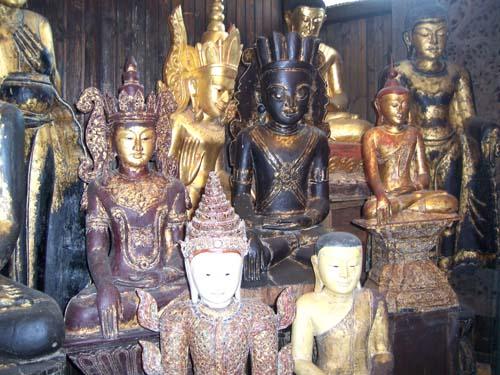 burmese buddha sculpture